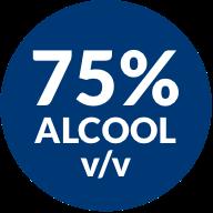 75% alcool