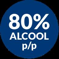 80% alcool